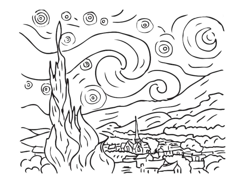 Classical Music For Kids Rimsky Korsakov Gershwin And Holst Starry Coloring Page