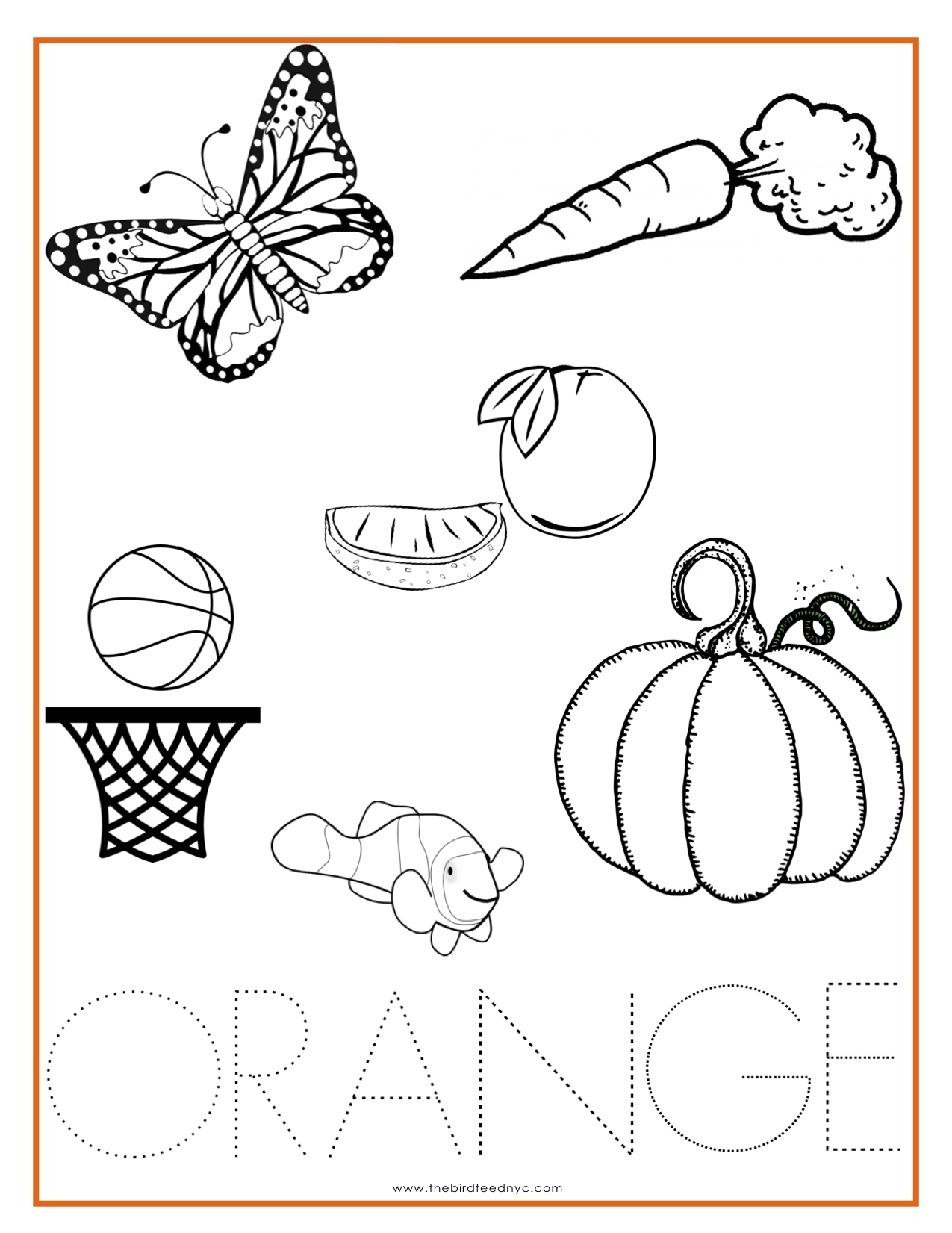 Adult Best Orange Coloring Pages Gallery Images beauty color orange coloring pages for kids cooloring com gallery images