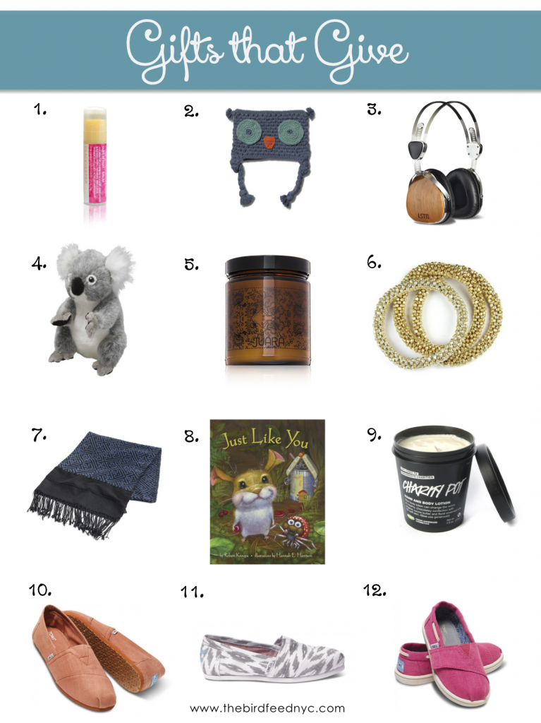 shop with purpose 12 gifts that give to charity