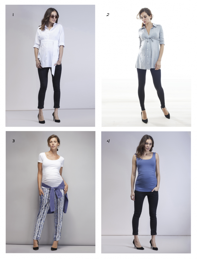 4145e1c75af The 4 Most Flattering   Functional Maternity Tops