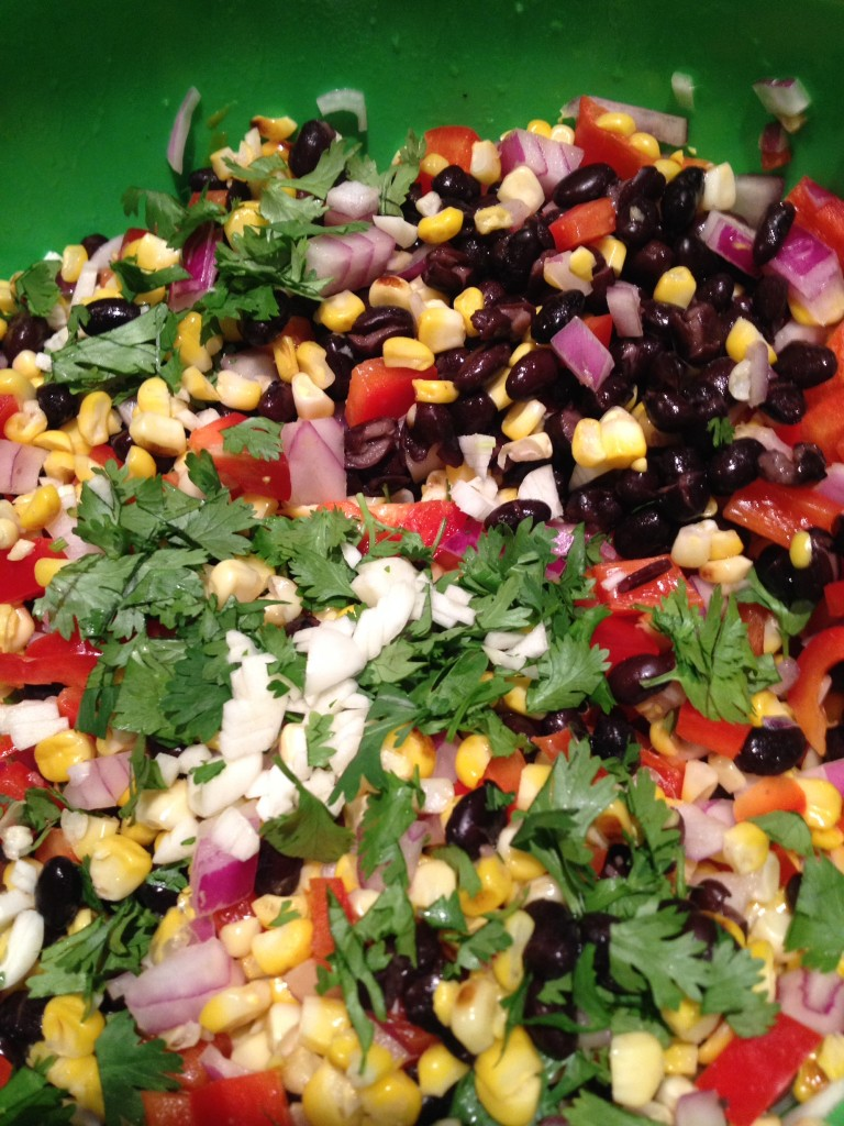 This salad is light, healthy, SO delicious, and beautiful! Perfect for ...