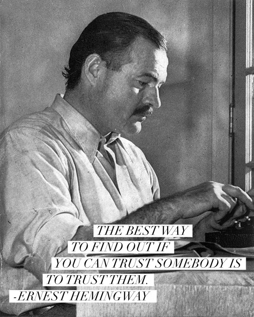 Famous Quotes About Life Lessons Happy Birthday Ernest Hemingway 10 Quotes & Life Lessons From