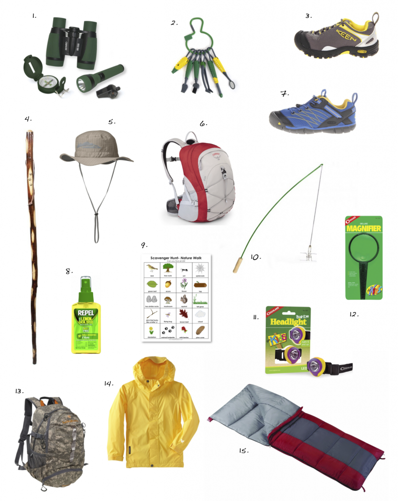 Hiking Camping Gear For Kids