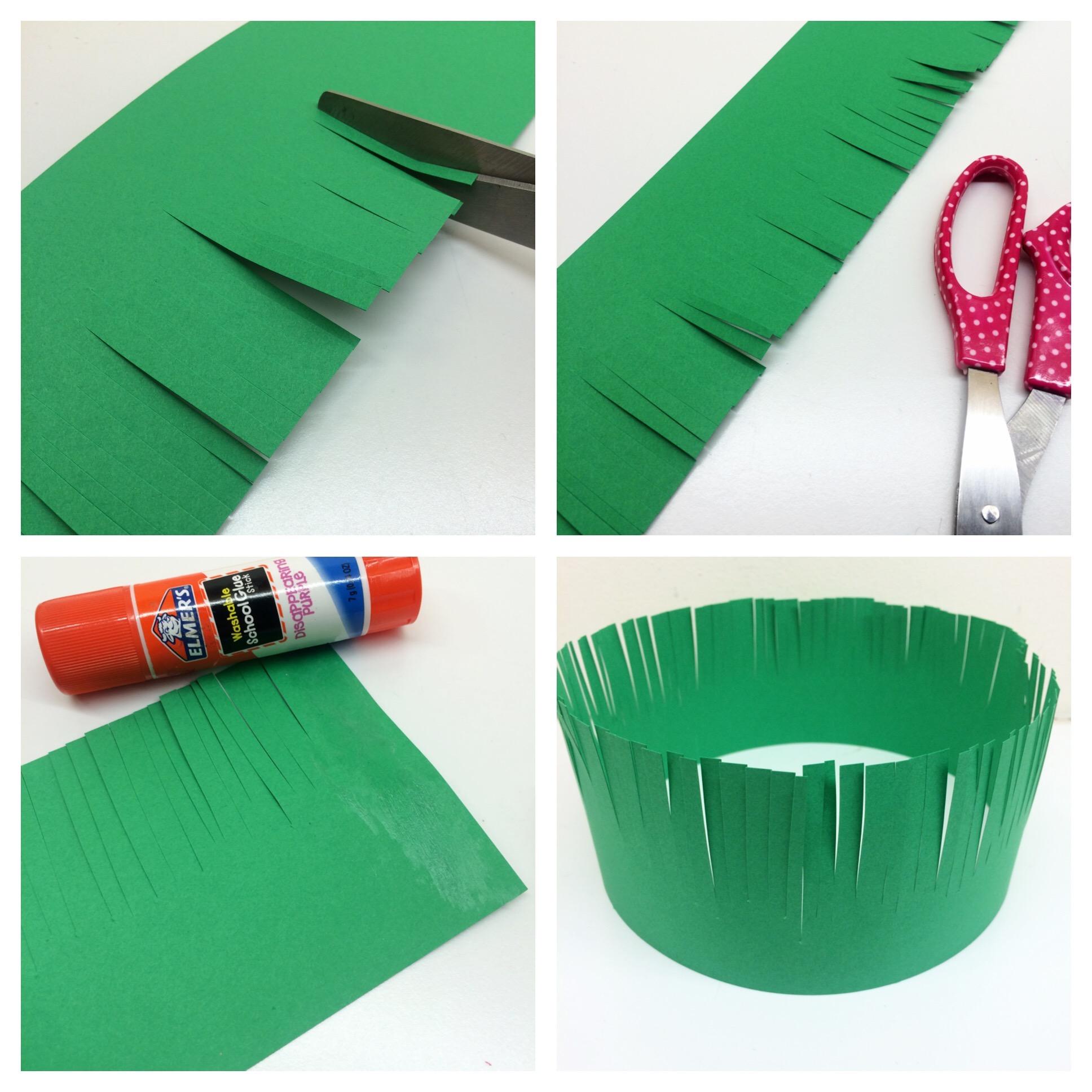 Craft For Kids Hawaiian Lei Grass Crown